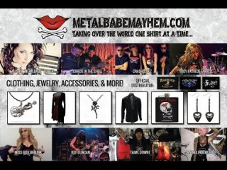 Iron Maiden Wristband - Metal Babe Mayhem